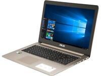 """ASUS N580VD-DS76T 15.6"""" 4K/UHD Intel Core i7 7th Gen 7700HQ (2.80 GHz) NVIDIA Ge"""