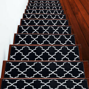 Stair Treads Trellisville Collection Contemporary and Soft, Pack of 4/7/13