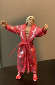 WWE Mattel Elite GameStop Retrofest Ric Flair Figure Loose Complete With Robe!