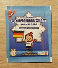 Kaufland 1 Tüte Olympia 2014 Bustina Pochette Pack Sobres Panini Olympic 14