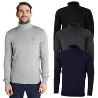 Calvin Klein Mens CK Roll Neck Rib Knit Warm Durable Sweater 33% OFF RRP