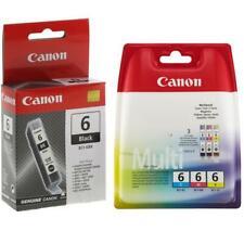 Genuine Canon OEM BCI-6  4-pack Black, Cyan, Magenta, Yellow (BK/C/M/Y)