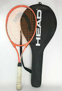 Head Radical 27 Red Adult Tennis Racket + Cover Size