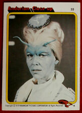 STAR TREK - MOVIE - Card #33 - ANDORIAN CLOSE-UP - TOPPS 1979
