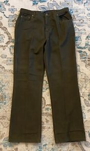 NWT Bill Blass Perfect Fit Regular Green Women's Pants Size 12 Inseam 31 1/2