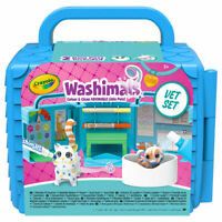 Crayola Washimals Vet Clinic Playset - Adorable, colour-able and washable pets
