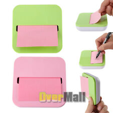 Creative Pumping Pop-up Notes Dispenser 3.7x3.7in with Pink Notes 100 Sheets/Pad