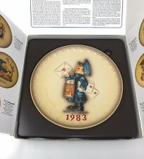 1983 M.I. Hummel Annual Collector Plate #276 with ppwk & box