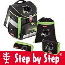 Step by Step Comfort Schulranzen Set Wild Cat 4 teilig Ranzen NEU und OVP