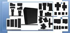 Heartfelt Creations 3D FLIP FOLD ALBUM W/POCKETS & INSERTS - BLACK BUNDLE -430