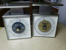 2(two) Edlund Portion Scales Sr-2 2lbs & Sr-10 10 lb Stainless Steel