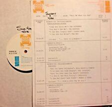 RADIO SHOW:4/13/87 SEE! BILL HALEY, YES, CCR, BTO, DC5, TODD RUNDGREN,HAPPENINGS