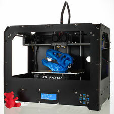 3D Printer FDM DUPLICATOR 4 Dual Extruders Space board+1Kg ABS/PLA for Makerbot