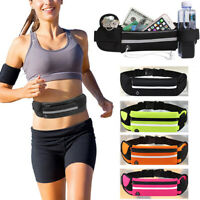 Sports Fanny Belly Waist Bum Pack Bag Fitness Running Jogging Cycling Belt Pouch