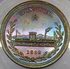(1862) LOVETT MONITOR GEO B MCCLELLAN RARE CIVIL WAR TOKEN