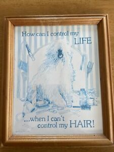 How Can I Control My Life When I Cant Control My Hair Photo Frame