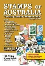 STAMPS OF AUSTRALIA ; 14th ed'n 2014 - PITT  Renniks  catalogue philately ax