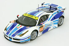 1:43 Ferrari 458 Italia gt2-AF CORSE - #54 - 24h Le Mans 2013-FUJIMI 1443007