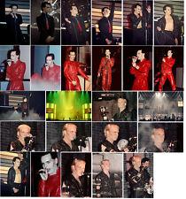 52 Gary Numan colour concert photos Liverpool 79, London 80, Coventry 80/83