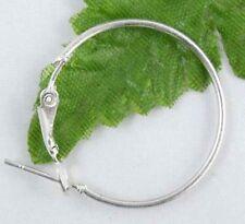 20 Pcs Wholesale jewelry Lot Circle Basketball Wives Hoop Earrings 35mm