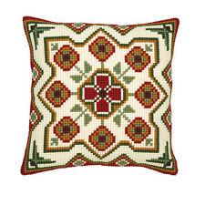 Vervaco-Cojín de Punto de Cruz Kit Frontal-Floral Geometric Design - 1200/651