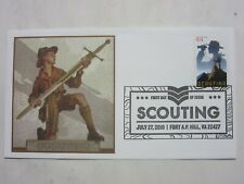 Scott 4472 2010 44¢ Scouting First Day FDC Fleetwood Jamboree Fort A.P. Hill