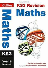 KS3 Maths Year 9 Workbook (Collins KS3 Revision and Practice - New C... NEW BOOK
