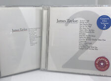 Greatest Hits Volumes 1 & 2 by JAMES TAYLOR 2 CDs SINGER SONGWRITER Legend