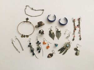 Boho Jewelry Lot Of Everything Pictured.  Alex And Ani Bracelet