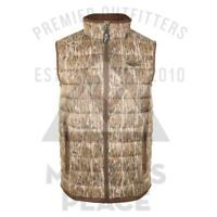Drake Waterfowl DW8640, LST Camo Double Down Layering Vest Bottomland