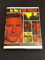 Kirk Douglas The Films Of Rare Signed Autograph Oversize Hardback Photo Book JSA