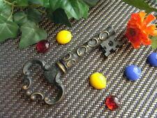 Vintage alter Korkenzieher Bronze als schwerer Schlüssel, old corkscrew #950