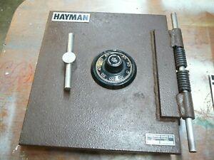 Hayman Heavy Duty Floor Safe DOOR only. Weighs 37lb.Need combo set. S/N 30409