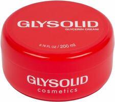 Glysolid Glycerin Cream Large Jar (Fragrance-Free & Vegan ) - 6.76 fl oz