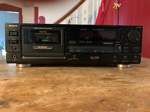 Aiwa AD-F810E Stereo Cassetten Tapedeck Kassettendeck