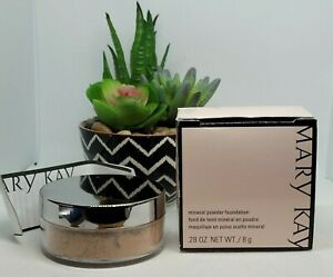 NEW in BOX Mary Kay  Mineral Powder Foundation - Beige 0.5  #040986