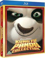 Kung Fu Panda 1 + 2 (2 disc) (Blu-ray) region B European multi language options
