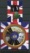 Nevis 2011 Kgl. Verlobung Royal Engagement Prinz William + Kate Royalty MNH