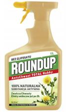 ROUNDUP 1L 100% NATURAL NO GLIFOSAT ANTI WEED TOTAL HOBBY SPRAY