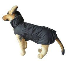 Hund Pullover Weste Kleidung fuer grossen Hundemantel Vlies (XL, schwarz) L9M6