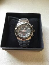 PULSAR by SEIKO 7T62-X138 RARE ALARM CHRONOGRAPH 100 -m WATCH