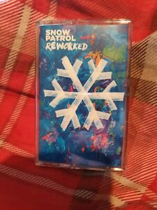 Snow Patrol - Reworked - NEW & NOT SEALED Cassette Tape album 2019 (BLUE)