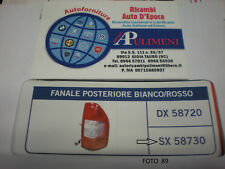 58730 FANALE POSTERIORE (REAR LAMP) SX ISUZU D-MAX  01/02->12/2006