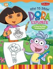 How to Draw Nick Jr.'s Dora the Explorer-ExLibrary