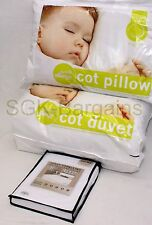 4.5T Baby Cot Bed Duvet  Anti Allergy + Pillow + Waterproof Matress Protector