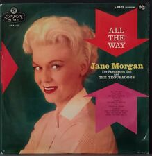 JANE MORGAN & THE TROUBADORS - ALL THE WAY ORIG PRESS ON LONDON HA-R 2110 EX CON