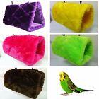 Parrot Hammock Tent Bunk Swing Cage Toy Pet Bird Cockatiel Budgie Parakeet Soft
