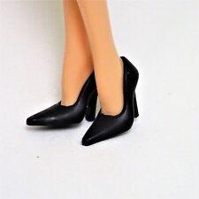 Zapatos de Barbie Basics Modelo Muse Negro Bombas Tacones Altos