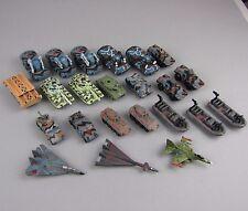 Konvolut Galoob Micro Machines Military Militär 23 Teile Terror Troops Freedom