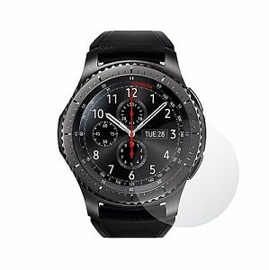 4x Screen Protector Full cover of the glass for Samsung Gear S3 Frontier
